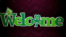 "St. Patrick's Day 16"" Welcome Sign Irish Plaque St. Patricks Paddy's New"