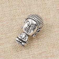 Ancient Silver Tibetan Buddhism Mala Guru Bead Jewelry Making Alloy Accessories