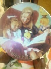avon special moments 5 in plate. 1998. trimmed in 22k gold free gift