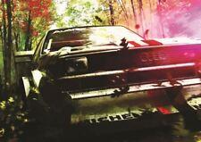 AUDI QUATTRO RALLY CAR POSTER ART PRINT A3 SIZE GZ2125