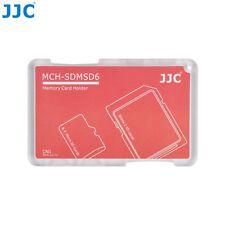 JJC Memory Card Case for 4x microSD + 2x SD Cards - Red Edition - MCH-SDMSD6