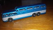 TOOTSIETOY (USA) Autocar Bus GREYHOUND bleu scenicruiser 17 cm