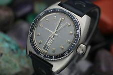 Vintage TECHNOS Sky Diver Automatic Stainless Steel 20 ATM Men's Diver Watch