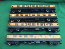TRIANG HORNBY RAKE OF GWR MK1 COACHES X 4 IN EXCELLENT CLEAN CONDITION