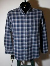 Men's COLUMBIA Sportswear Blue Flannel Shirt Size M