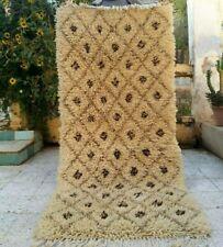 "Vintage Handmade Moroccan Rug wool Azilal Carpet Tribal Berber Rug  6' x 2'9"""