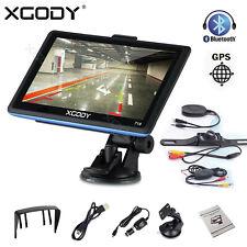 Xgody 718 7' Auto Car Gps Navigation Sat Nav Fm + Wireless Backup Cameras Kit