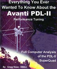 Avanti PDL-II Performance Manual +++ CB Radio AV-120 122 - Quad-Beam Antenna