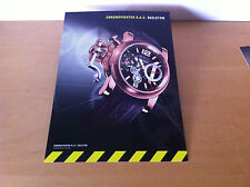 Usado - GRAHAM - Ficha Técnica CHRONOFIGHTER R.A.C. SKELETON - For Collectors