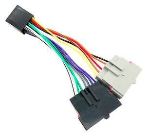 Radio Adapter Wire Wiring Harness Old To New Style Factory Stereo Install Cable