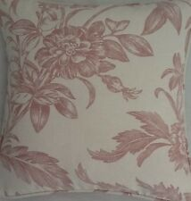 Un 40,6 cm Laura Ashley copricuscino In Lloyd Gesso Tessuto rosa