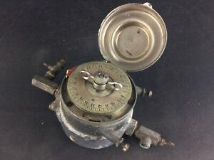 Ancien régulateur minuteur pour usine à gaz Co2 montrouge Seine Cie XIXème