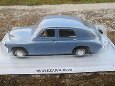 WARSZAWA M-20 Die cast 1/43 Sovietiche