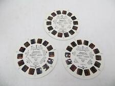 View-Master 1000, Smurfette, Children's Cartoon, Set of 3 Reels