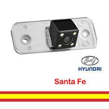 Camara aparcamiento para Hyundai Santa fe Luz matricula Vision trasera Con LEDs