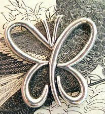 Modern Butterfly Silver Jewelry Pendant silver necklace charm bead vintage
