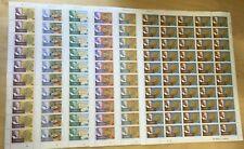 FULL SHEETS Grenadines 1978 256-61 - Nobel Prize - Set of Sheets - MNH