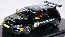 VW Volkswagen Scirocco R-Cup 2010 Autostadt #16 Black Black 1:43 Spark