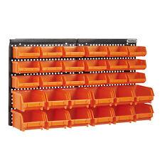VonHaus 15/240 Wall Mount Storage Bin Set - 30 Piece