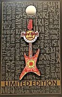 Hard Rock Cafe Chicago Pin Summer Fling Guitar 2018 LE NEW # 99345