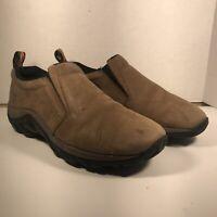 Merrell Jungle Moc Nubuck Waterproof J60831 Casual Shoes Men's Size 7.5 Brown