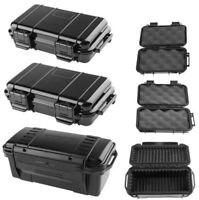Outdoor Shockproof Dry Box Waterproof Plastic Sealed Tool Case Safety ABS Holder