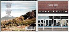 Radar Bros. cd album - Auditorium
