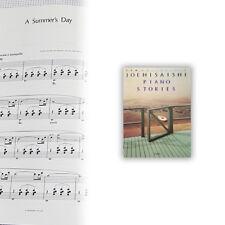 Joe Hisaishi [Piano Stories] Piano Solo Sheet Music Book