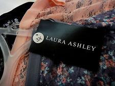 Laura Ashley Dreamwear 3 Pair Lace Trim Panties Sz 3X Black, Pink, Floral