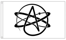 Atheist 5ft x 3ft (150cm x 90cm) Flag Banner