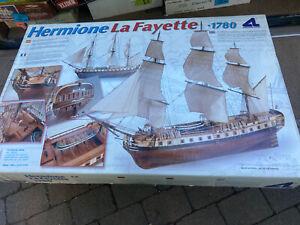 Artesana Latina Hermione LaFayette Wooden Ship Model Kit High End Classic