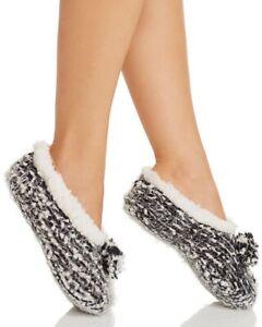 Cejoli Frosted Pom-Pom Slippers!! New!! Sz. S/M Msrp $30.00