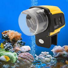 Ddigital Aquarium Automatic LCD Fish Food Feeder Feeding Timer For Fish Tank