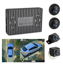 Universal HD Bird View Car 4 Camera DVR Recorder G-Sensor Lightless Night Vision
