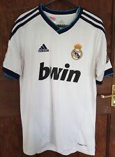 Real Madrid Adidas Camisa Casa 2012-13, 13-14 Años, Buen Estado