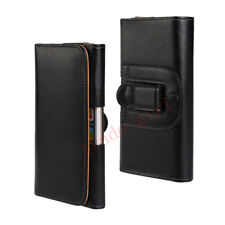 Mens Leather Belt Bag Wallet Case Universal Cell Phone Waist Pouch Packet Cover