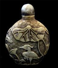 Jade/Hardstone Snuff Bottle Asian Antiques