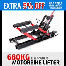 680kg Hydraulic Motorcycle Lifter Motorbike ATV Trolley Jack Lift Stand Hoist