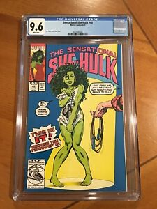 Sensational She Hulk 40   CGC 9.6   1992   John Byrne   Controversial   Disney