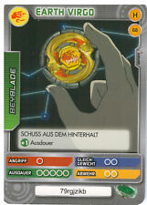 H 68 Earth Virgo - DeAGOSTINI Beyblade Battle Card Collection 2011 (6)