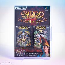 Simon LO STREGONE 4 GIOCHI PC (1+2+ FLIPPER + Puzzle Pack) Nuovo sigillato in fabbrica fuori catalogo!!!