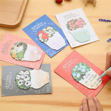 5Pcs Flowers Post-It Notes Sticky Notes Paper Stickers Memo Pad Bookmark Marker