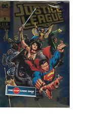 Justice League #1 GOLD FOIL DC BOUTIQUE NM or better IN HAND Sealed FREE SHIP