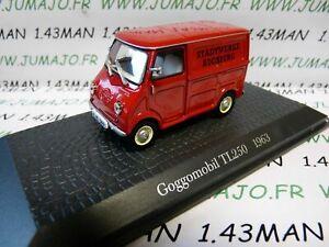 DDR11 voiture 1/43 test Allemagne norev : GOGGOMOBIL TL250 1963 Augsburg