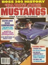 FABULOUS MUSTANGS 1987 SEPT - K-CODE, TORINO COBRA,BOSS