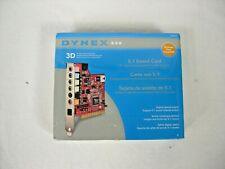 Dynex 5.1 Desktop Internal PCI Sound Card DX-SC51