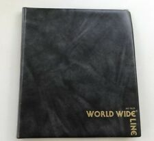 "1986 ""World Wide Line"" Salesman Sample Case Coasters & mint original price list"