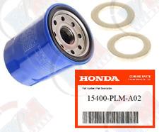 GENUINE HONDA OEM FACTORY OIL FILTER + 2 GASKET 15400-PLM-A02 for Acura & Honda