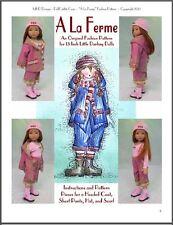 """A La Ferme"" Fashion Pattern for Dianna Effner's 13 Inch Little Darlings"
