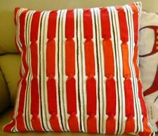 One Duck Two Twisties Red Cushion Cover 45 x 45